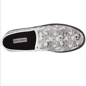 Steve Madden Shoes - Steve Madden Helion Slip On Skull Shoes